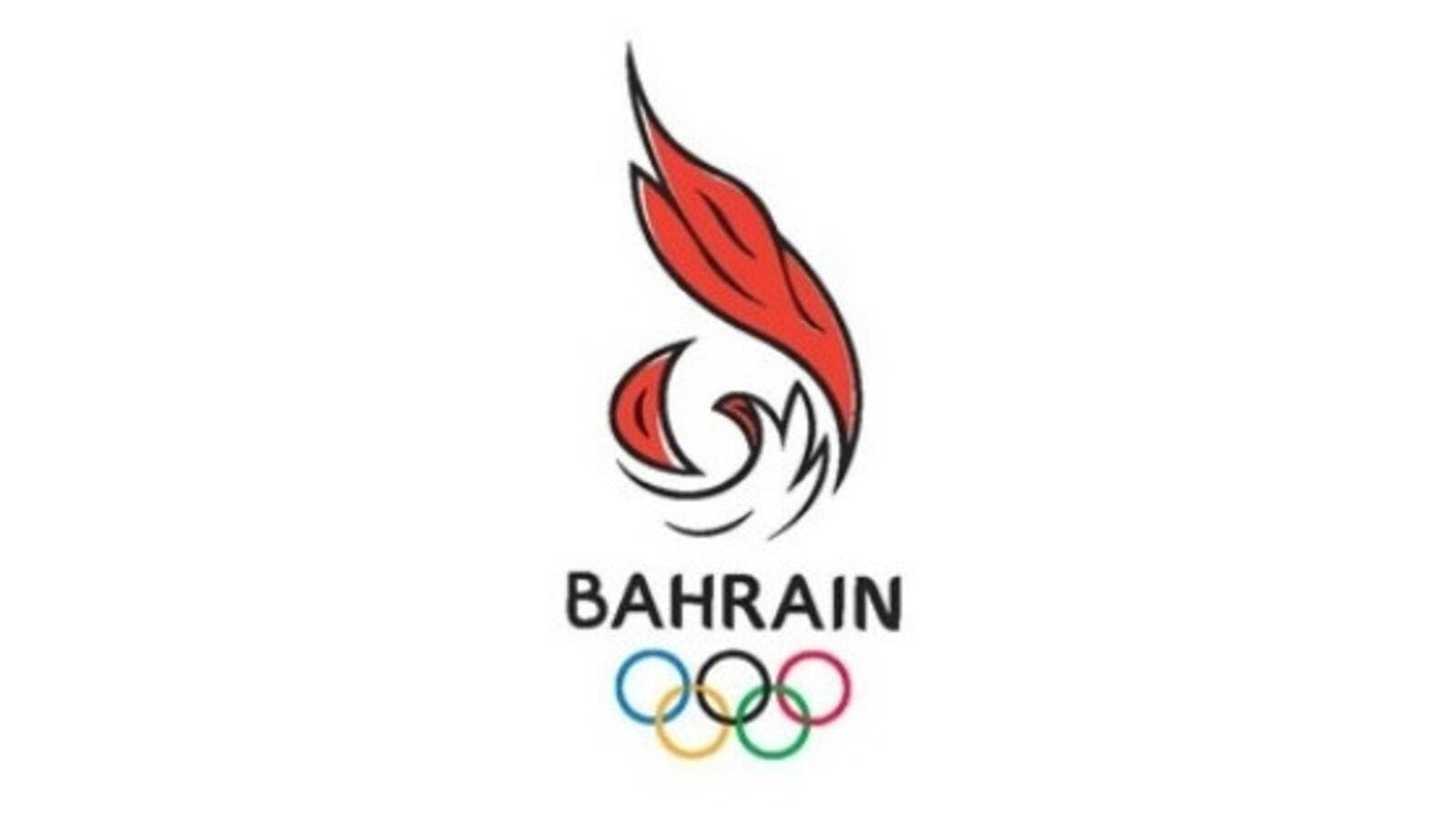 The Bahrain Olympic Committee logo
