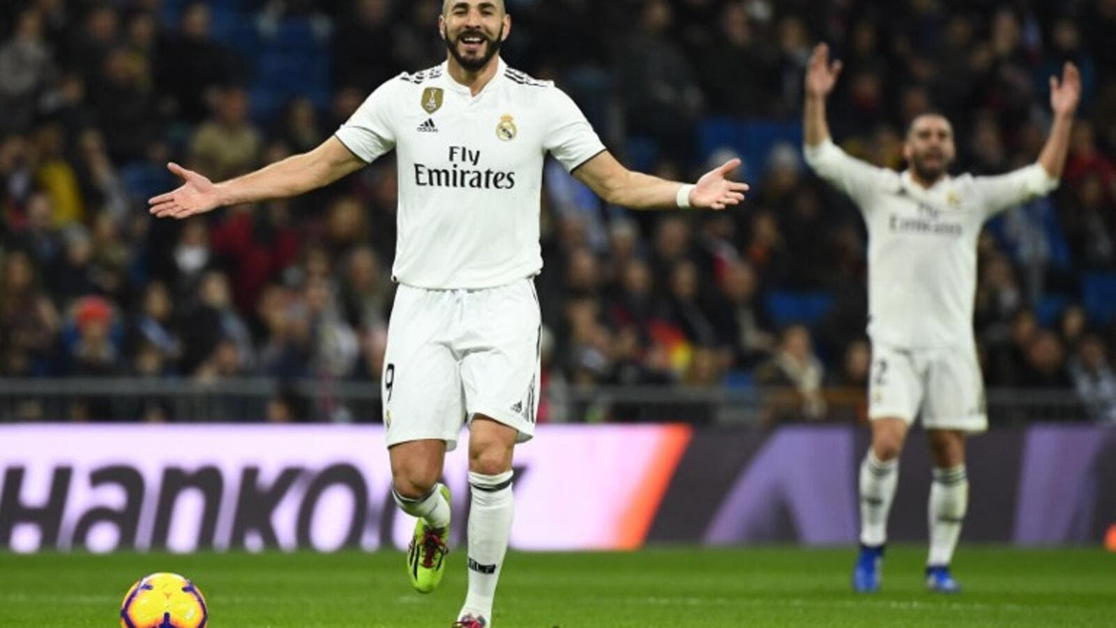 Karim Benzema scored the only goal as Real Madrid secured a third straight LaLiga win, beating Rayo Vallecano at Santiago Bernabeu Stadium.