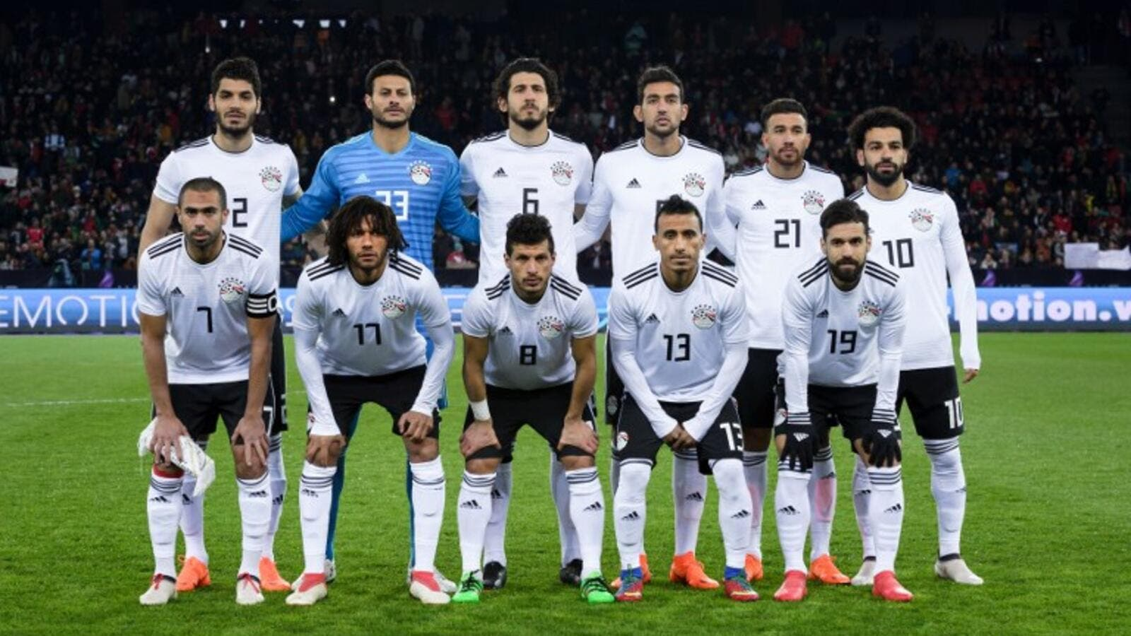 finest selection 70313 e3324 Egypt Football Team in Nigeria for Super Eagles Friendly ...