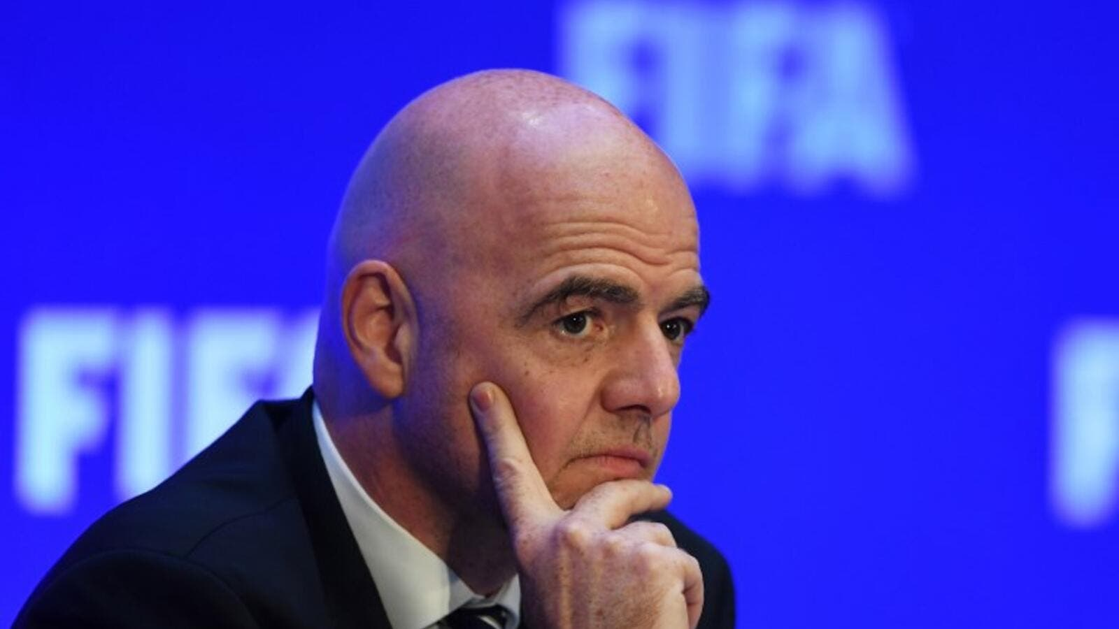 The prospect of the 2022 competition being increased to 48 teams has taken a hit after FIFA's president said talks have been shelved for now