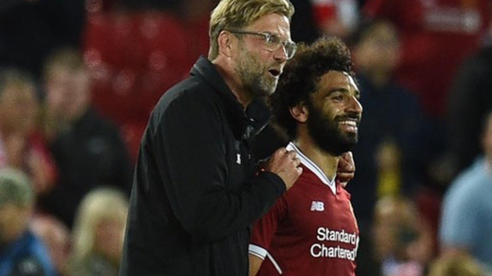 Salah sustained a groin injury last Wednesday during the Champions League quarter finals first leg match