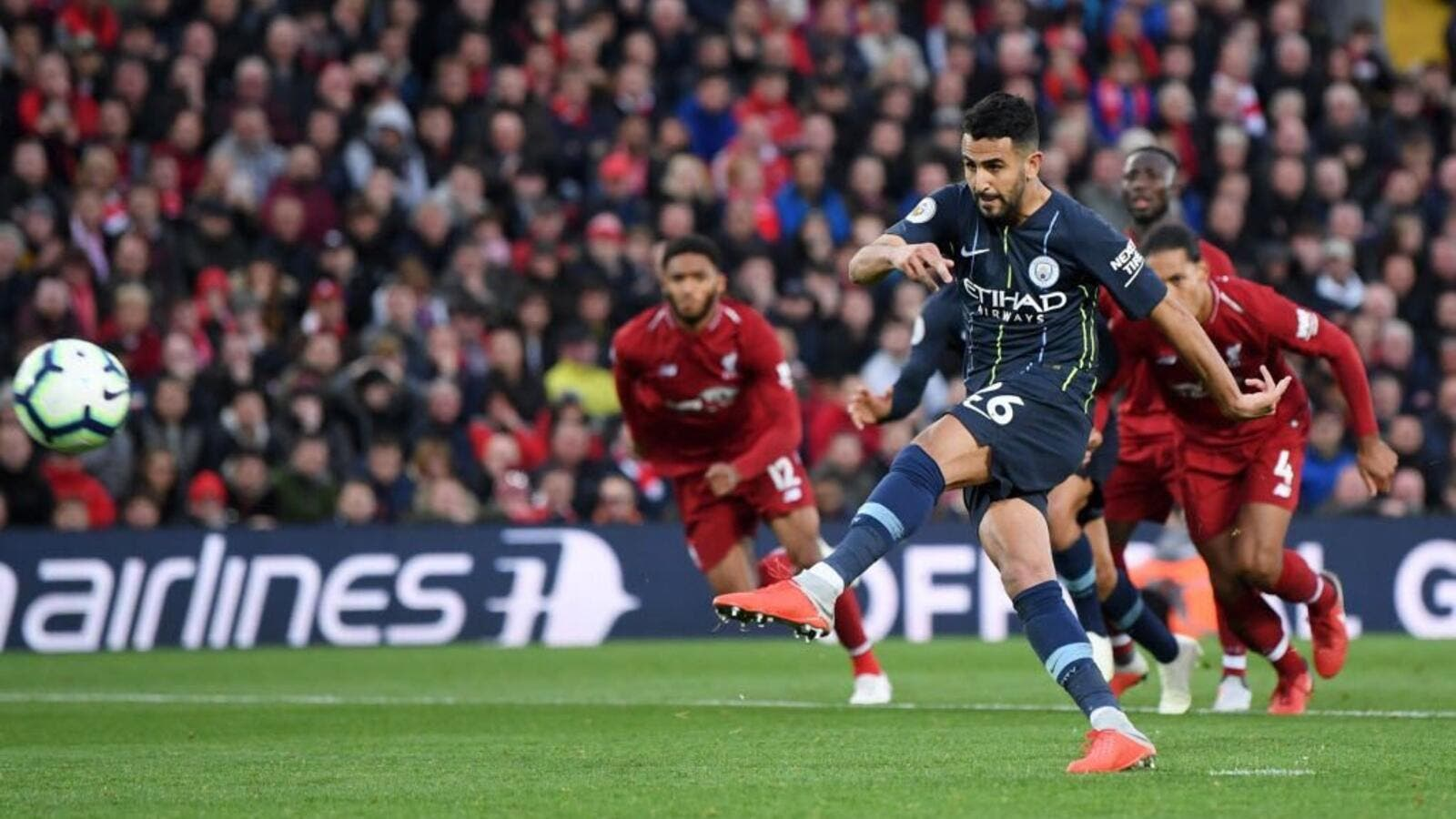 Premier League champions Manchester City reclaimed top spot in the table thanks to a goalless draw against title rivals Liverpool on Sunday. (Photo: @WhoScored)