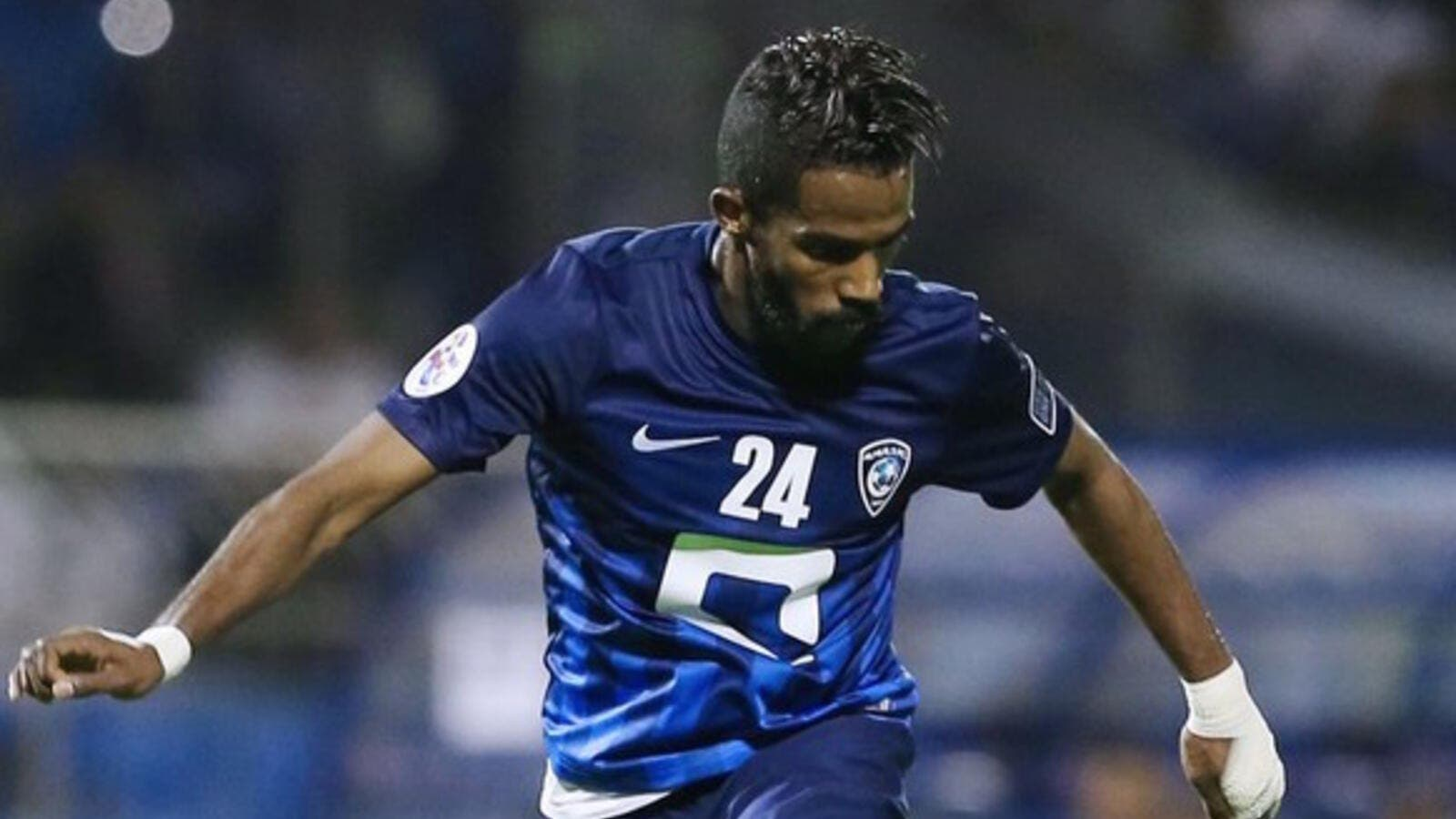 Nawaf Al-Abed has played more than 100 times for Al-Hilal