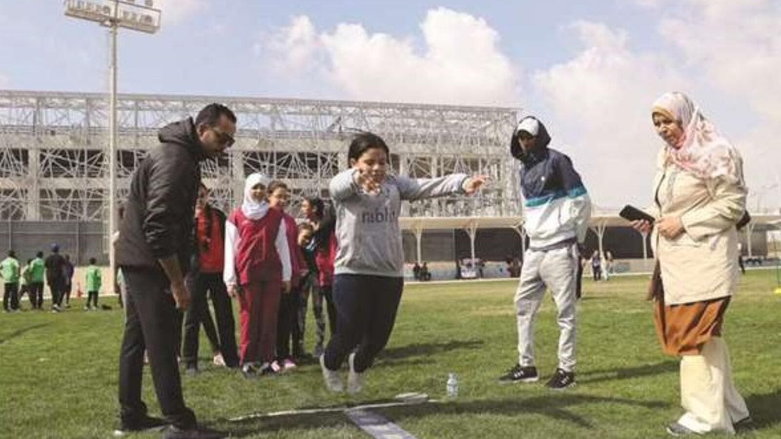 IAAF World Athletics Championships Doha 2019 Local Organising Committee has been running an engaging schools programme attracting hundreds of girls to take up sport and physical activities. (Photo: Gulf Times)