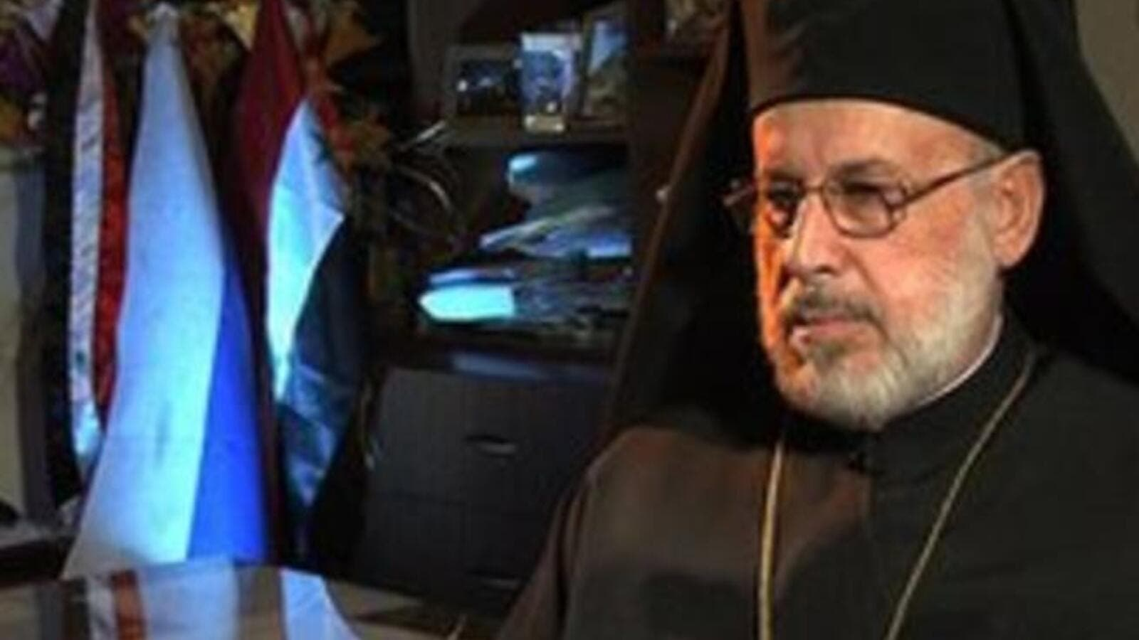 Auxiliary Bishop at the Greek Orthodox Patriarchate of Antioch and All the East Luqa al-Khoury declared war on the Syrian rebels. [pravoslavie]