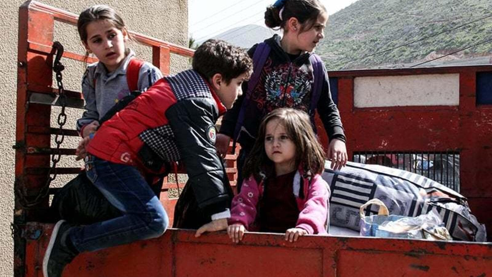 Around 500 Syrian refugees left southern Lebanon. (AFP/ File photo)