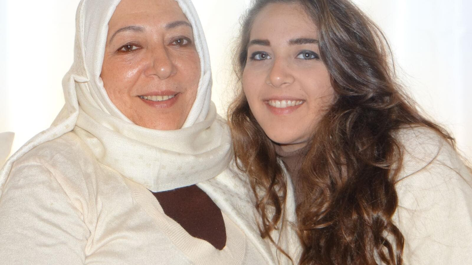 The man is believed to be a family member of Orouba and her daughter Halla Barakat, who were stabbed to death in their apartment on 22 September (Facebook)