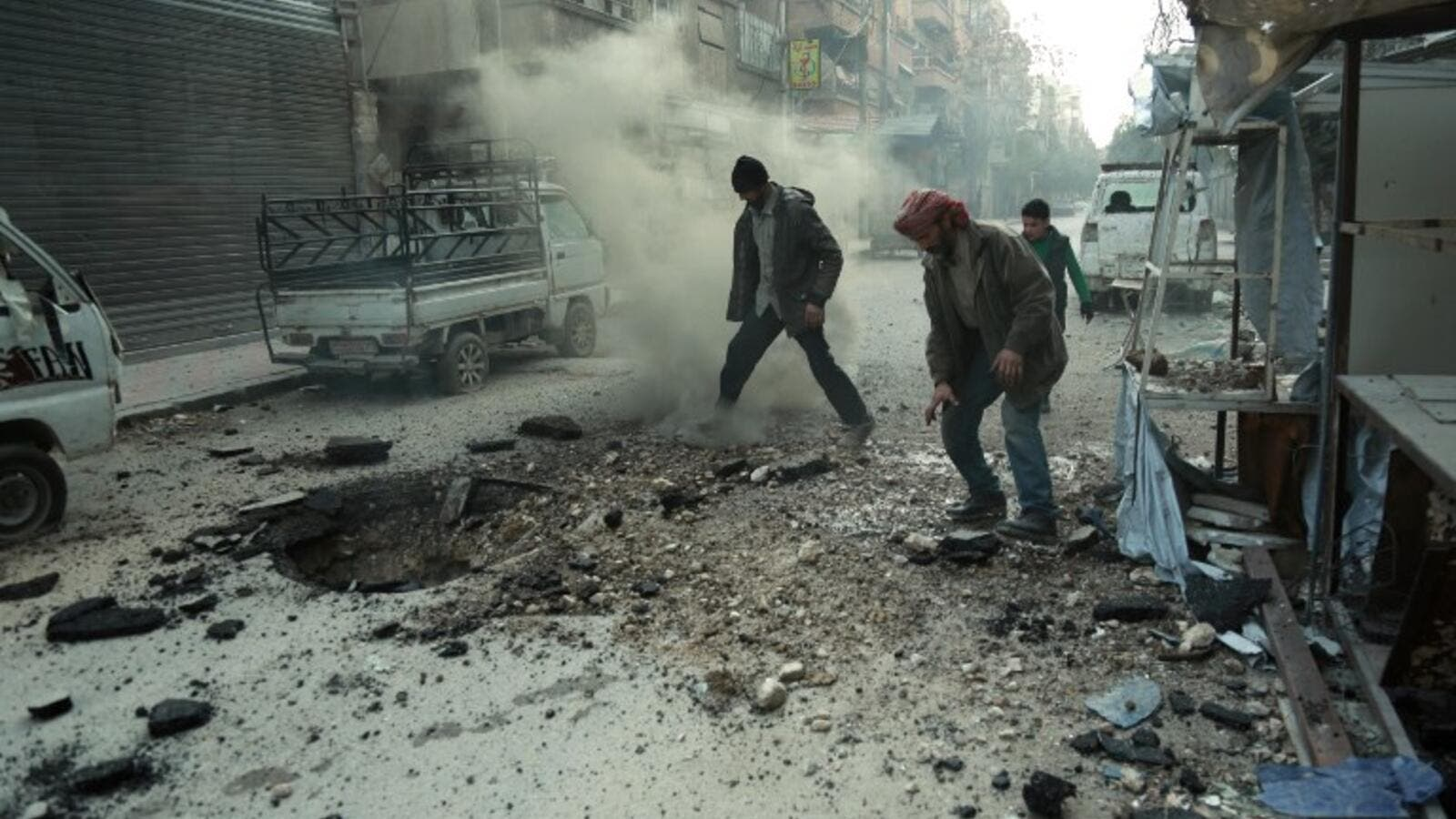 Syrian town of Douma. (AFP/ File Photo)