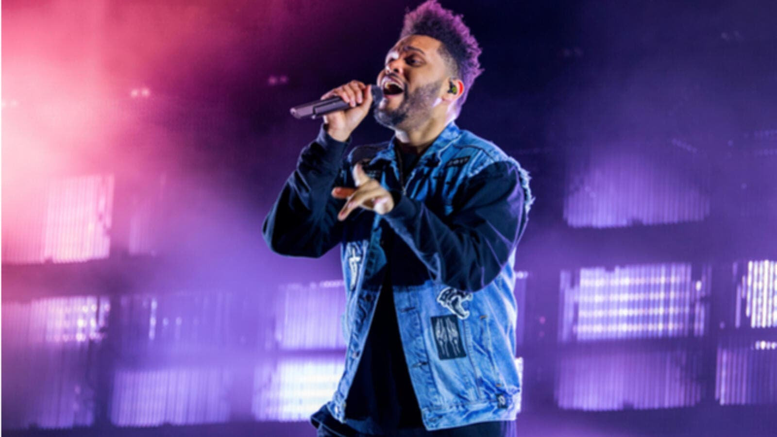 "The ""sky full of stars"" was an obvious hint at Coldplay, however, it was none other than the man with sweet vocals, The Weeknd (Source: Christian Bertrand - Shutterstock)"