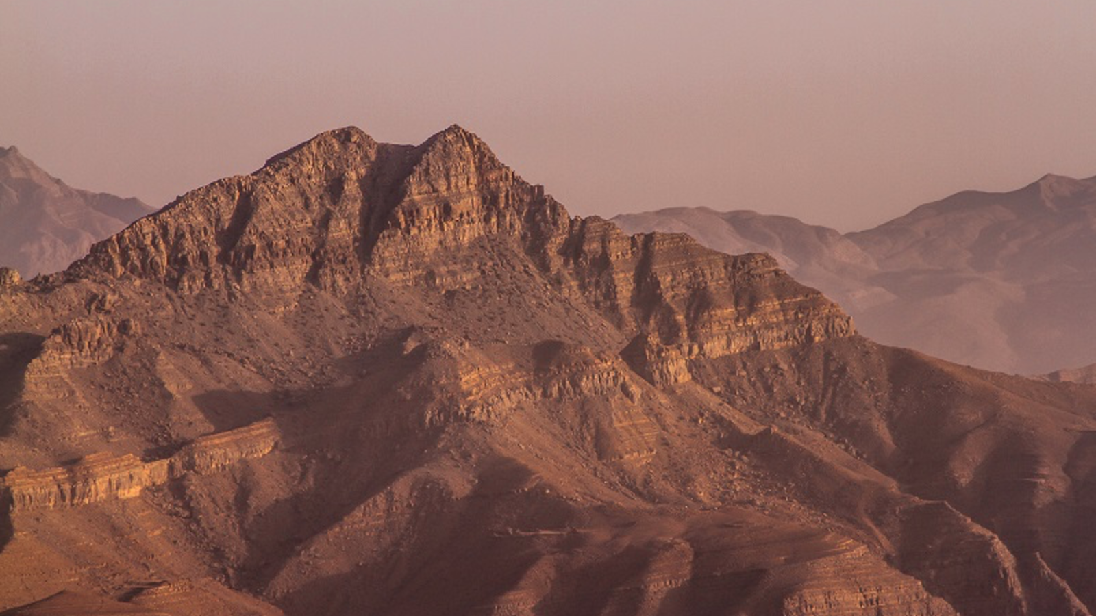 Jebel Jais mountain which is over 1,910m above the sea level, where the tourist fell off. (AFP/File)