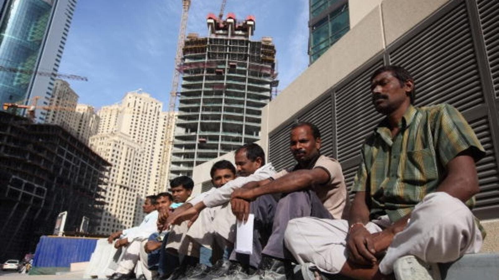 Last year, thousands of migrant workers in Saudi Arabia were stuck without a job or pay. The issue was particularly felt in construction companies such as Saudi Oger and Saudi Binladin. (AFP/ File)