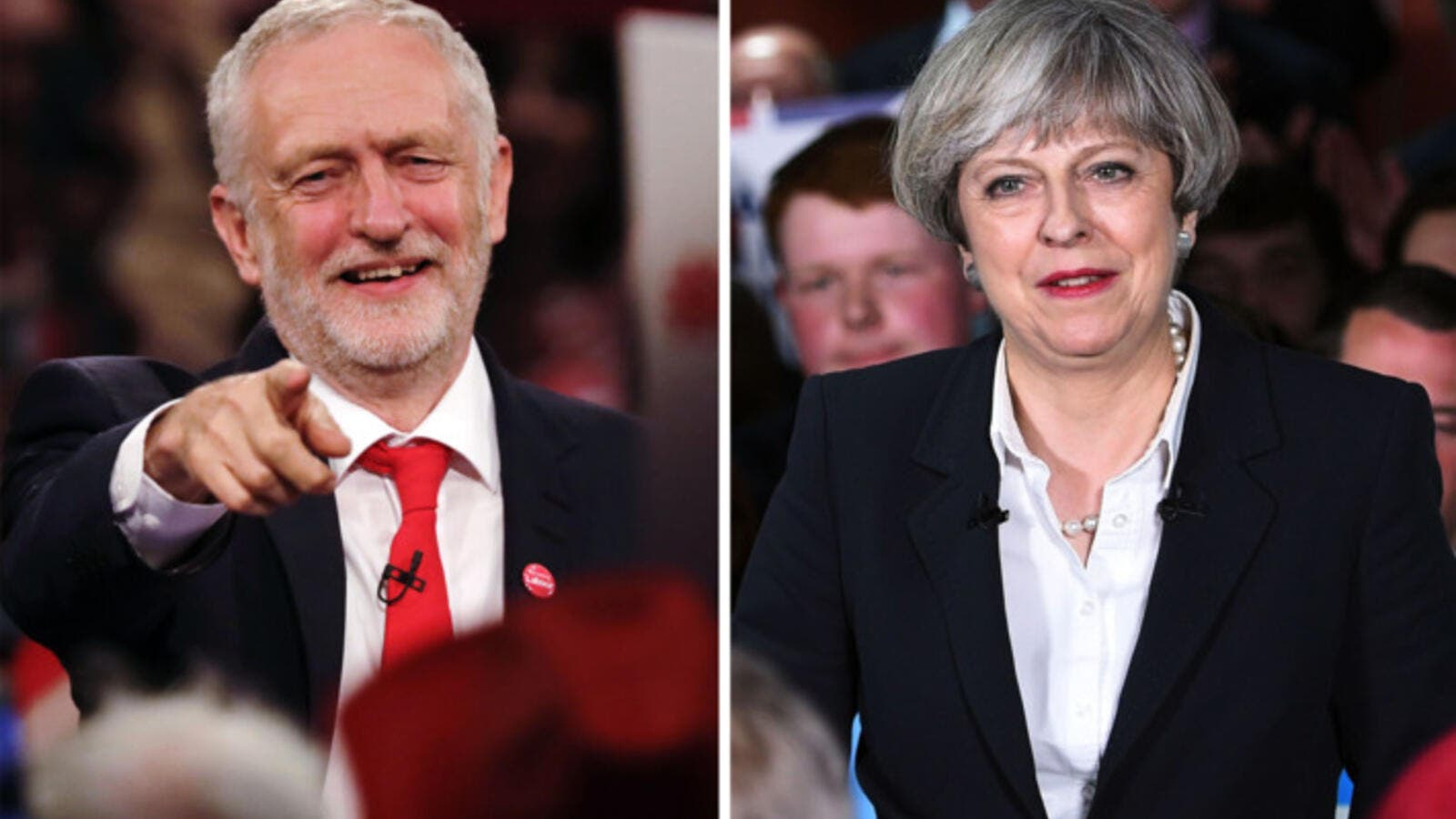 Labour Party leaderJeremy Corbyn, British PM Theresa May. (AFP/ File)