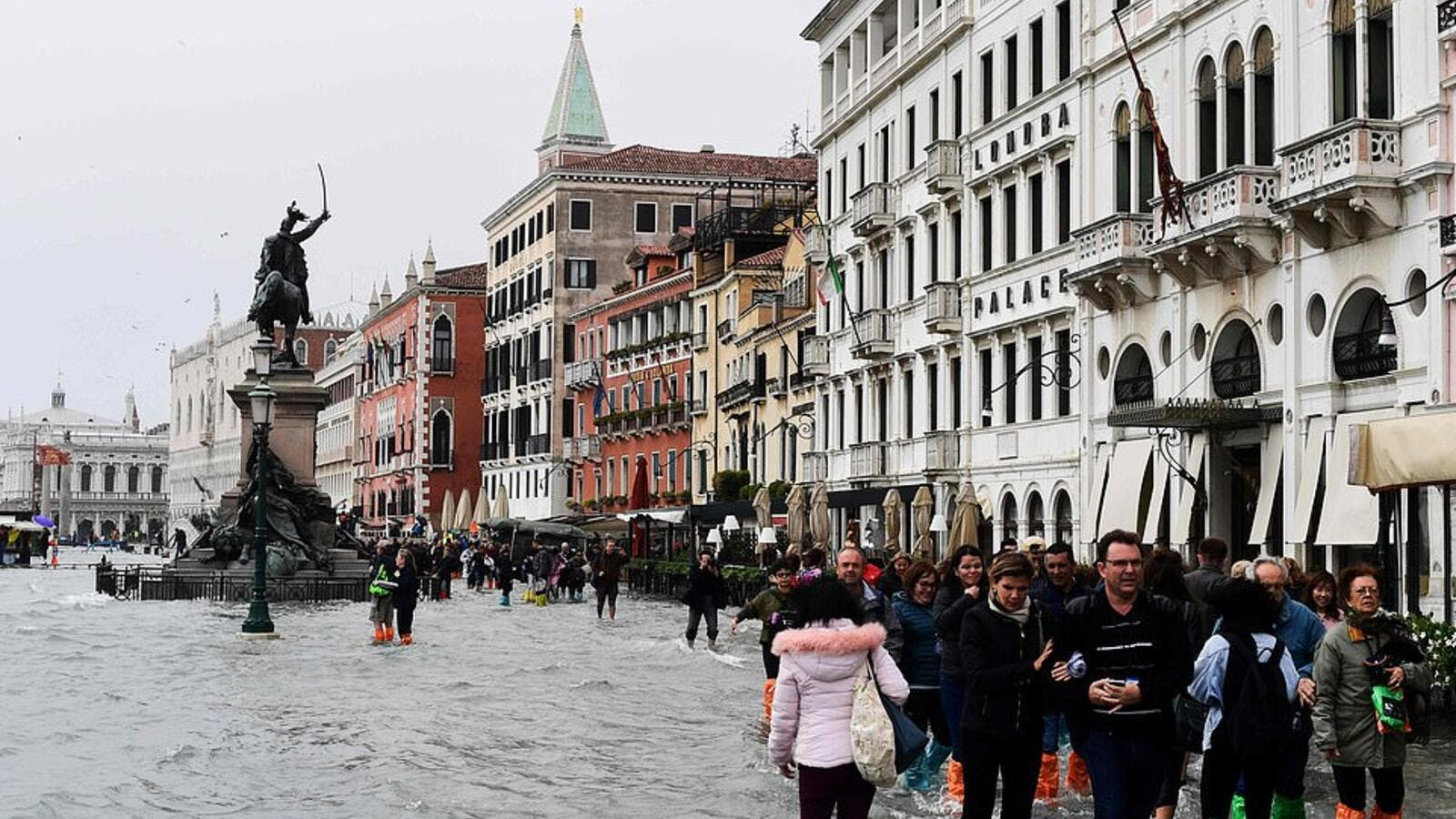 Venice witnesses harsh flooding. (AFP/File Photo)