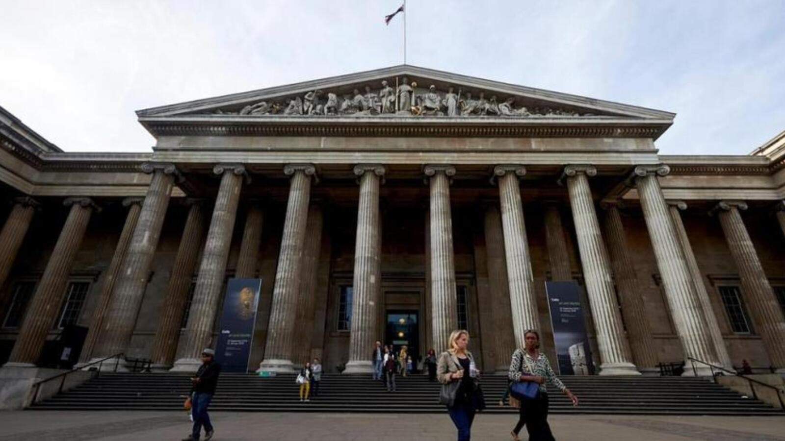 "Gallery 51 in the British Museum has been renamed the ""Sheikh Zayed bin Sultan Al Nahyan Gallery for Europe and the Middle East"". (Niklas Halle'n /AFP)"