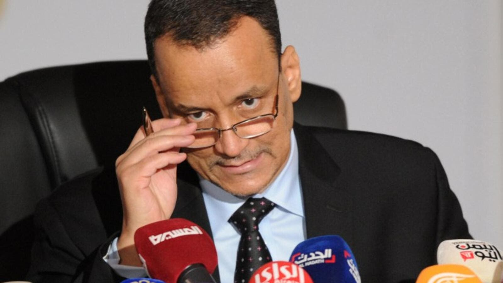 UN special envoy for Yemen, Ismail Ould Cheikh Ahmed. (AFP/Yasser Al-Zayyat)