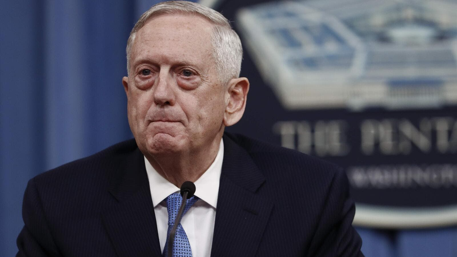 U.S. Defense Secretary Jim Mattis said the United States is ready to carry out more attacks on Syria if Assad fails to heed the message of last week's allied cruise missile strike. (AFP/ File Photo)