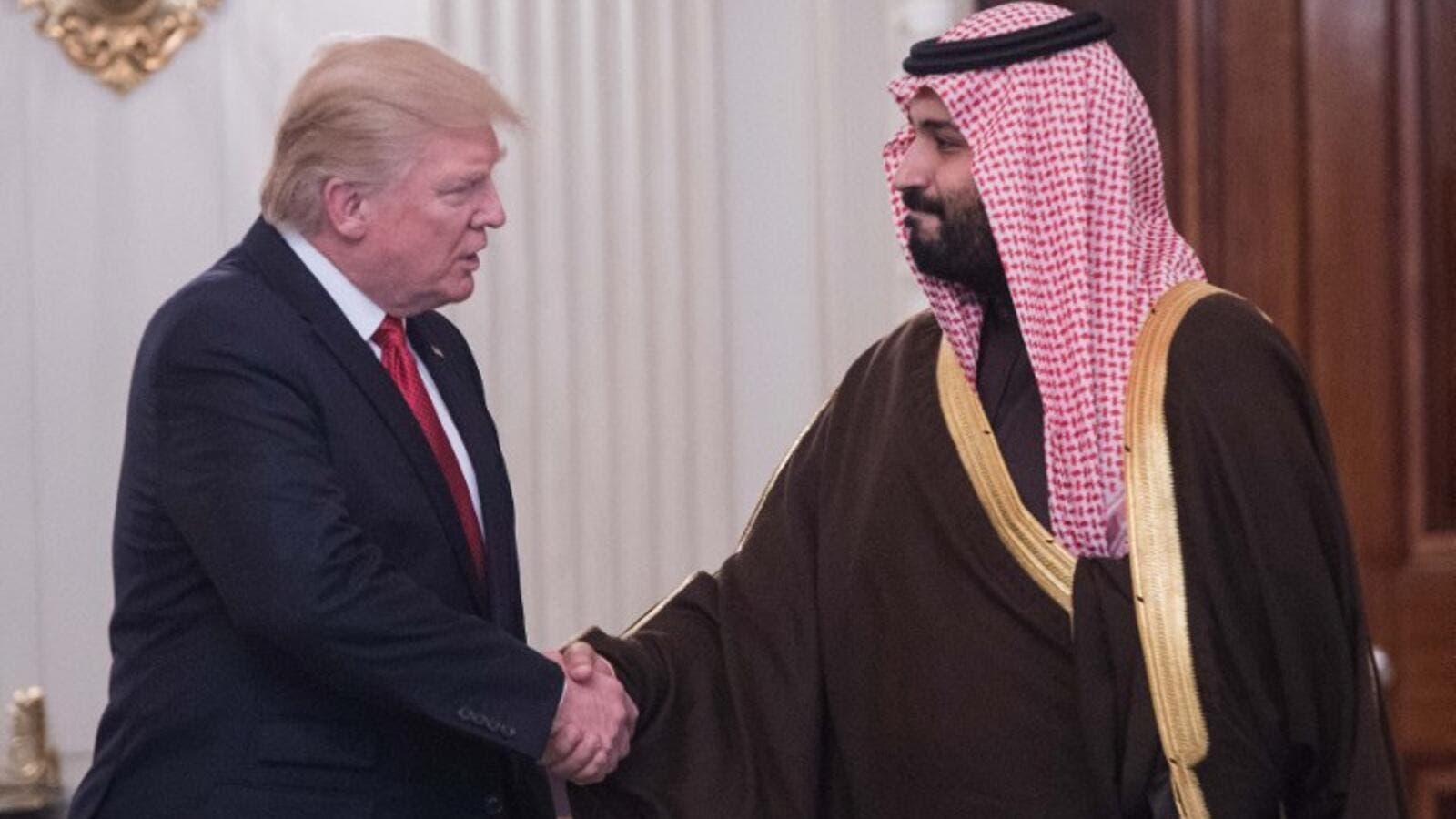 US and Saudi officials intend to consult on additional steps to deepen commercial ties and promote investment, and to expand cooperation in the energy sector. (AFP/Nicholas Kamm)