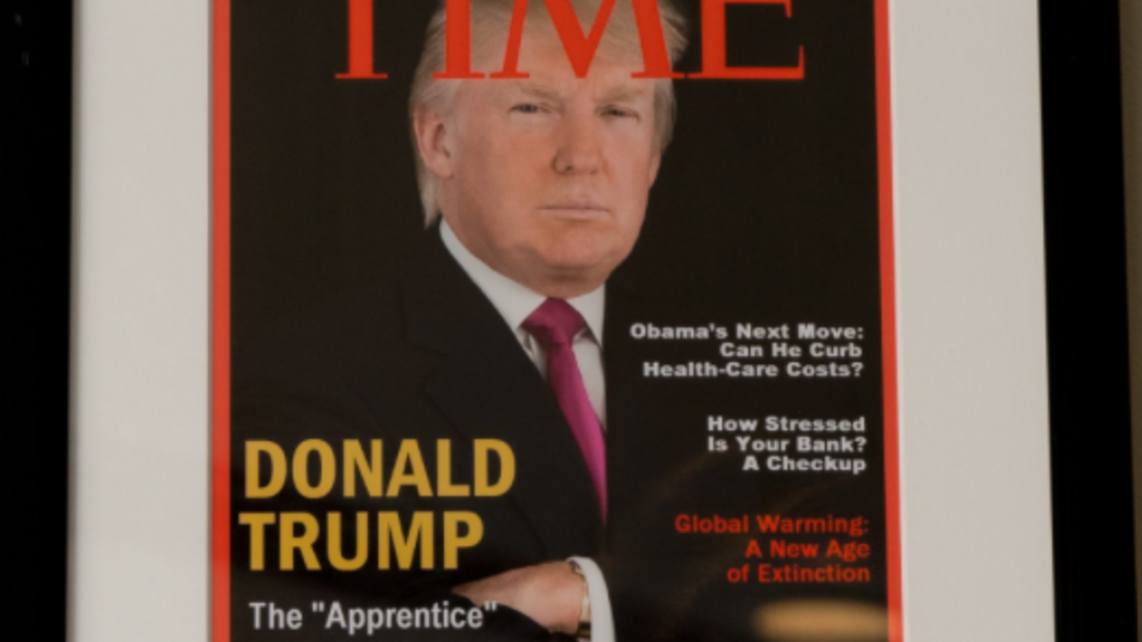 There was no March 1, 2009, issue of the Time magazine and, in fact, there was no issue at all in 2009 with Trump on the cover. (twitter)