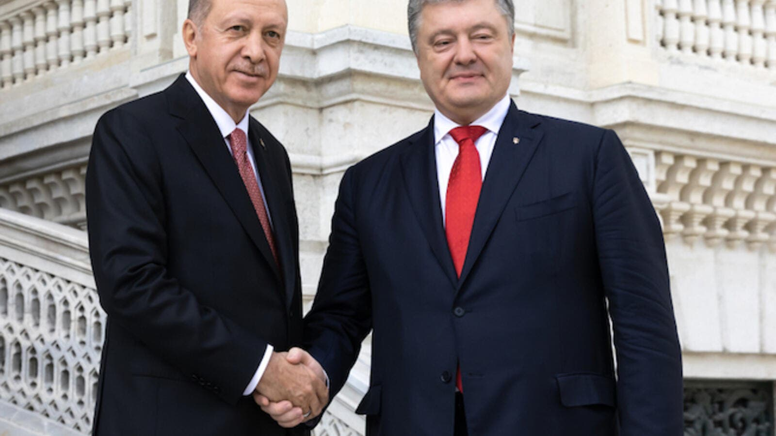 Poroshenko met Turkish President Recep Tayyip Erdogan during the 7th meeting of the council between Turkey and Ukraine held in Istanbul on Saturday. (Shutterstock)