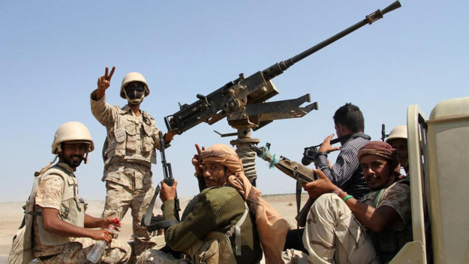 Yemeni army troops advancing further in Saada Province. (AFP/ File)