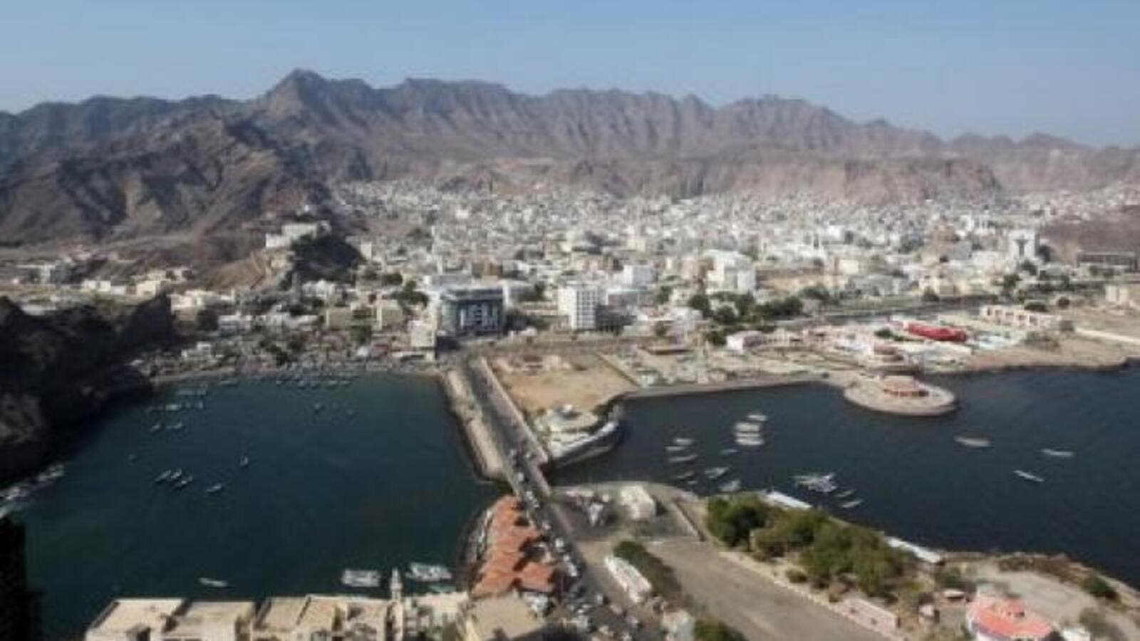 "Exiled President Hadi called the retaking of the strategic southern port city of Aden the ""beginning of the road to regain"" Yemen. (Al Bawaba/File)"