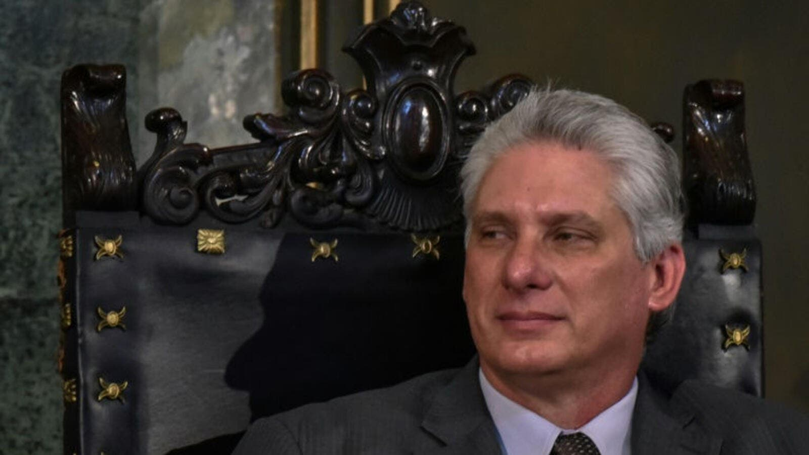 Miguel Diaz-Canel is the new boss of Cuba. (AFP/File Photo)
