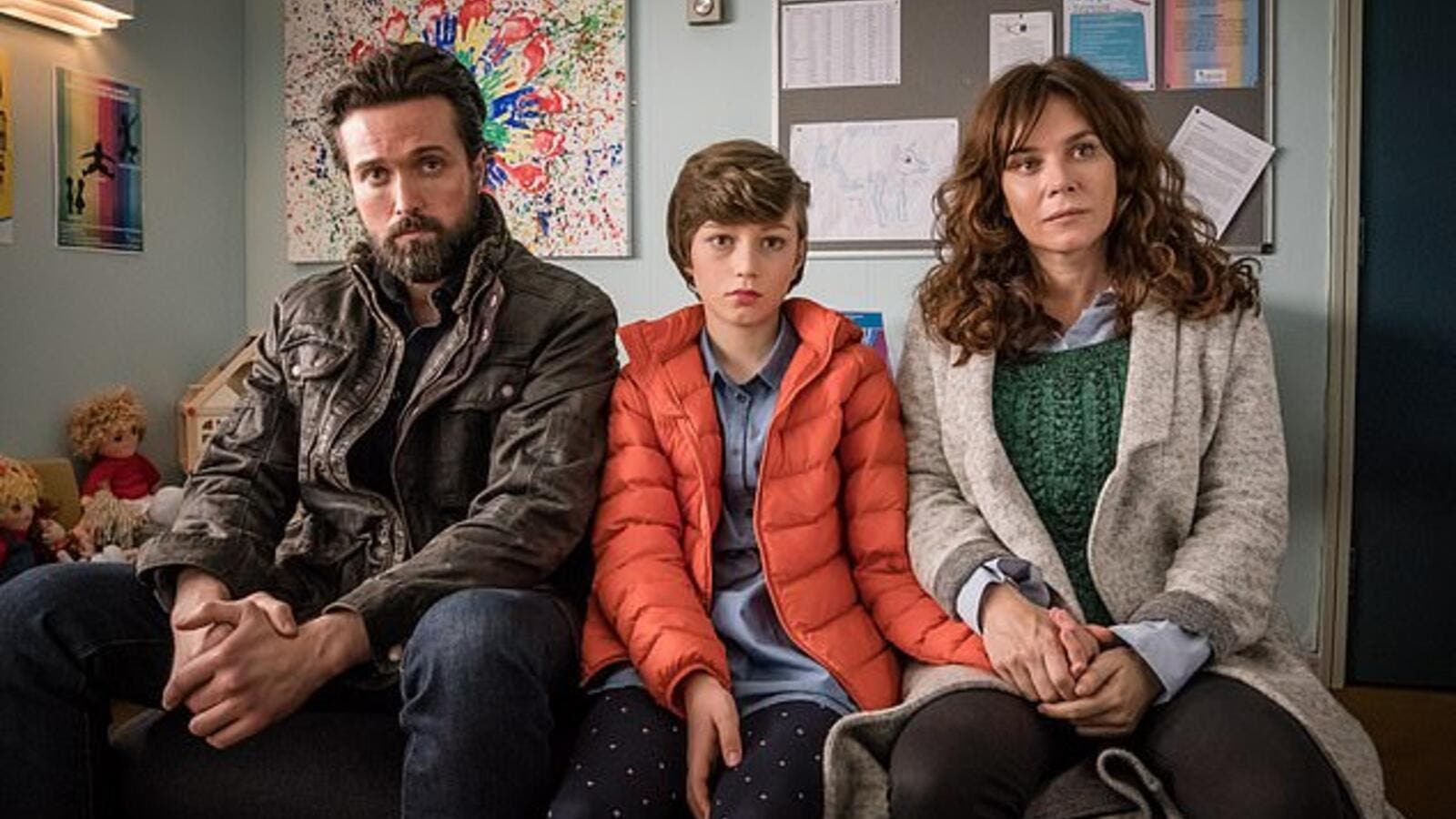 In the show parents Vicky (played by Anna Friel) and Stephen (Emmet J Scanlan)  seek to support Max (Callum Booth-Ford), their 11-year-old son who identifies as a girl. (Daily Mail)