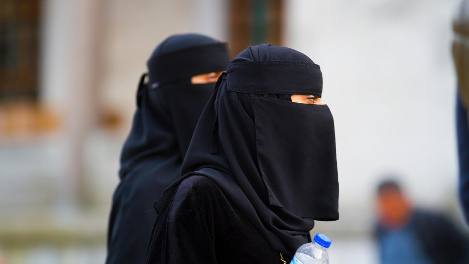 Woman in Niqab (Shutterstock)