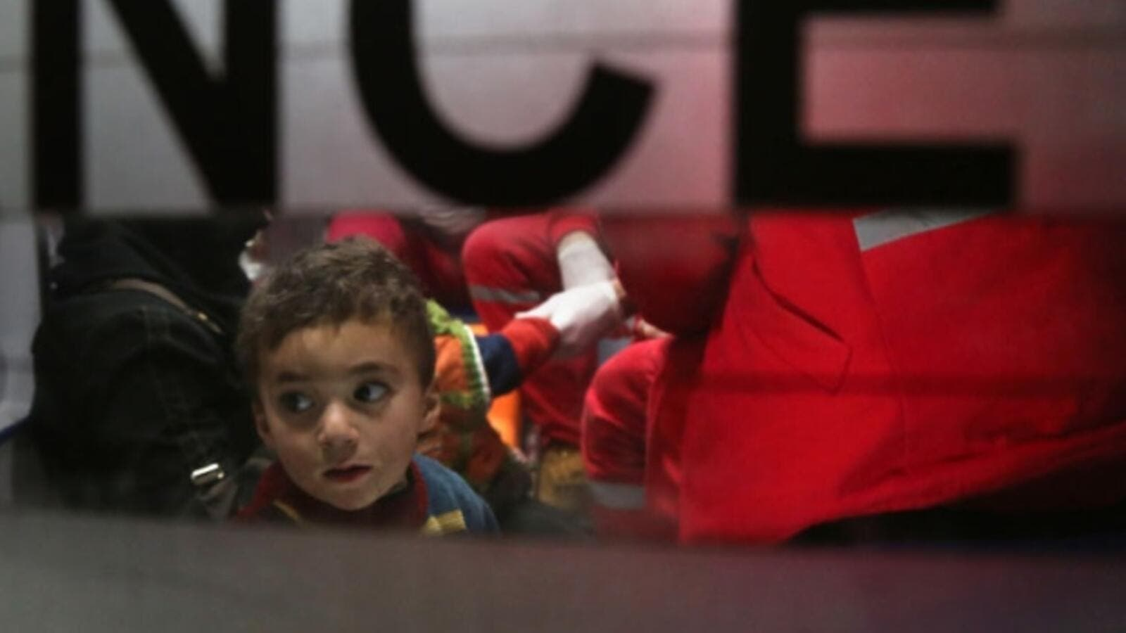 More than 600 patients are on the medical evacuation list because there is no treatment available for them in the besieged area (AFP/File)