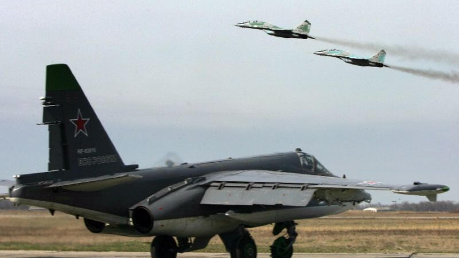 Russian warplanes(AFP/File)