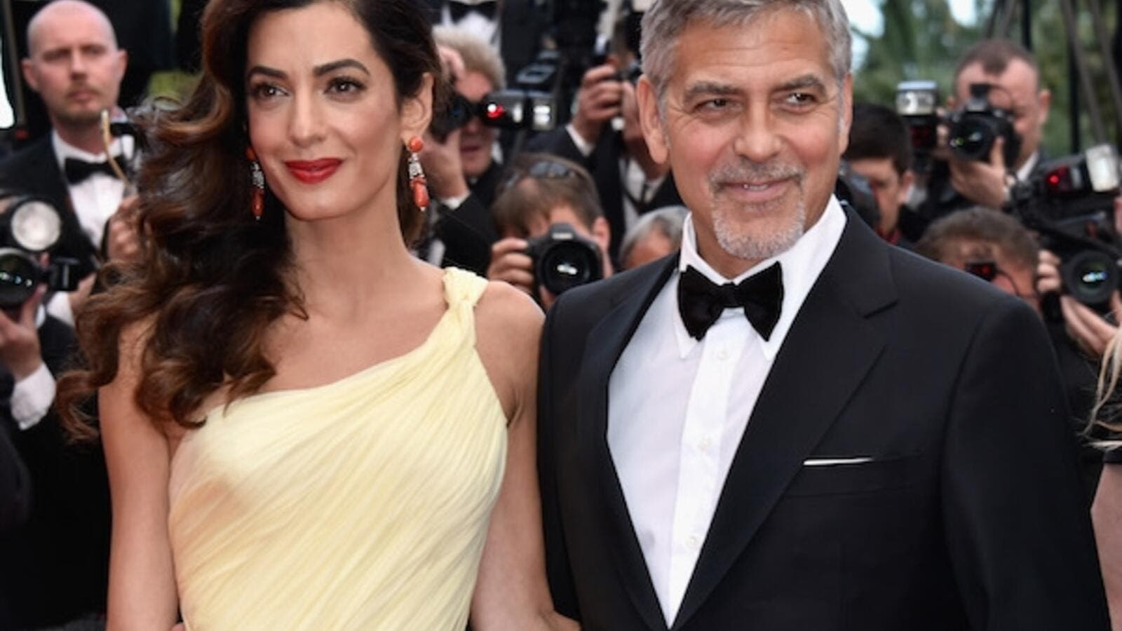Amal said her marriage to film star George, 55, causes 'extra publicity.' (Design & Trend)