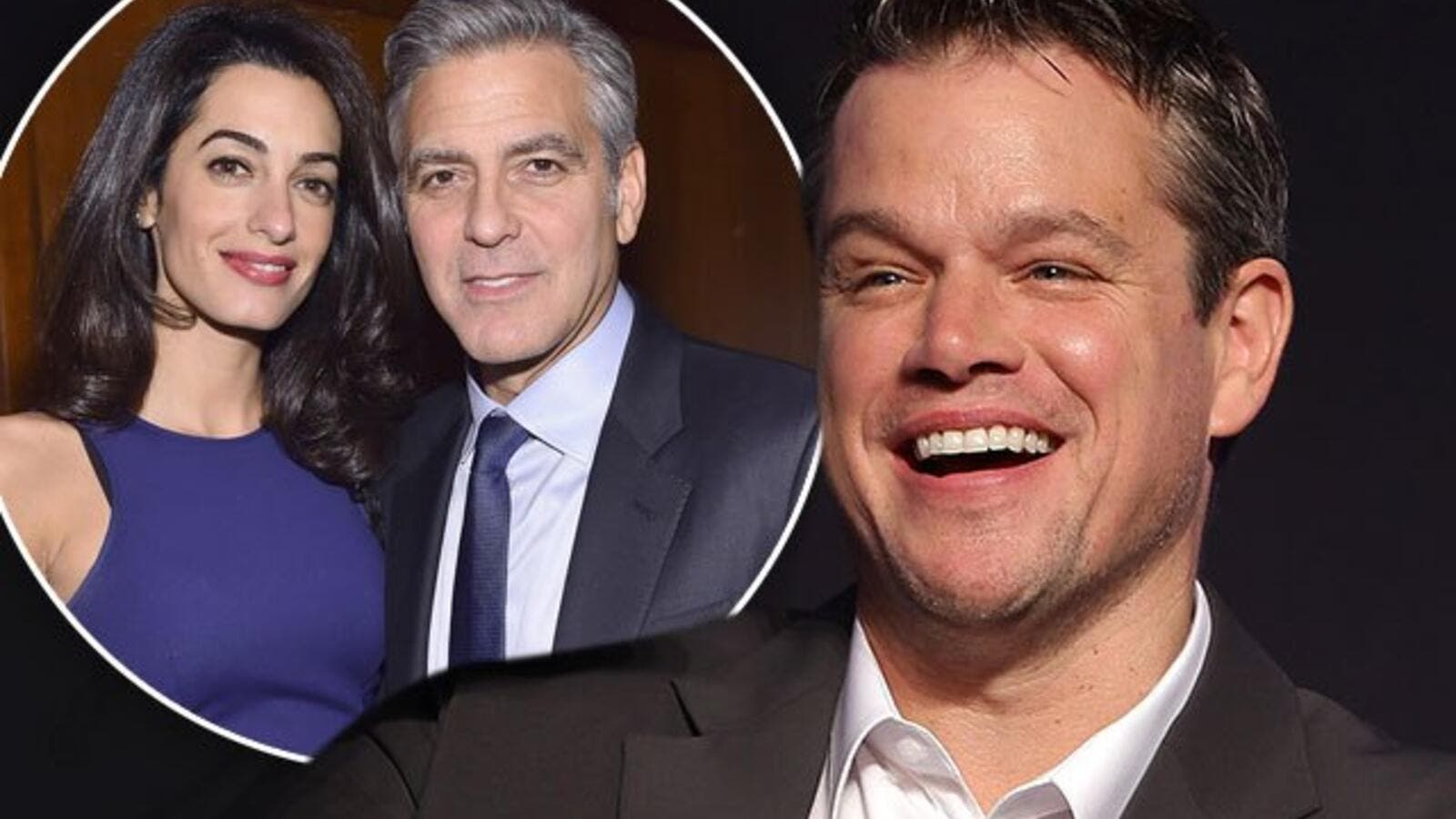 George and Amal are expecting twins in June. (Radar Online)