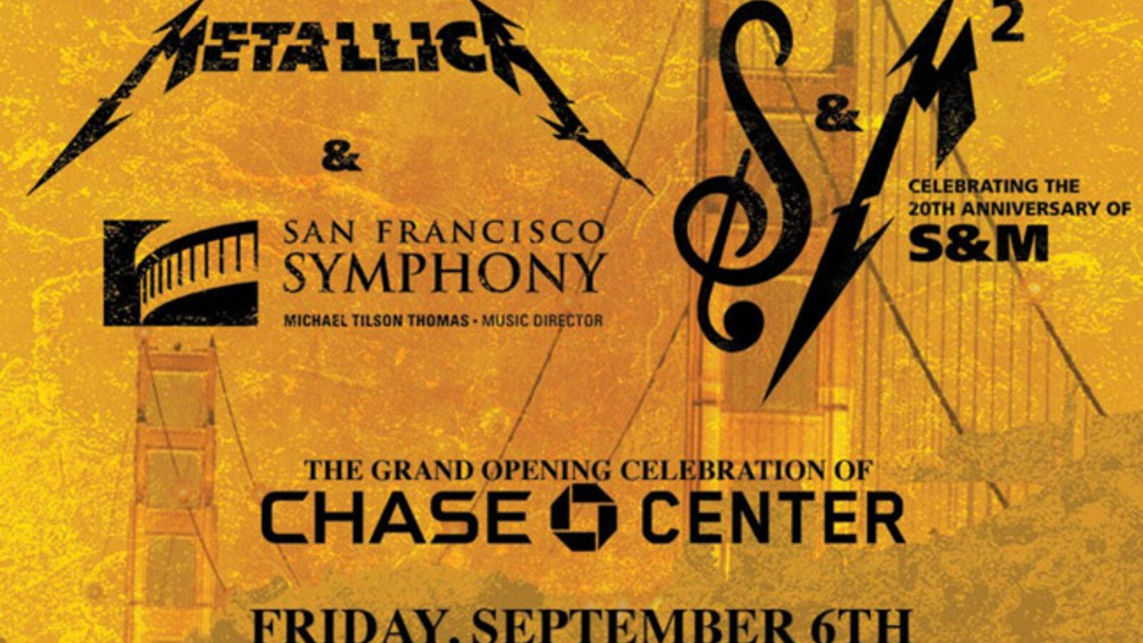 The concert also celebrates the opening of the Chase Center in San Francisco (Source: metallica / Twitter  )