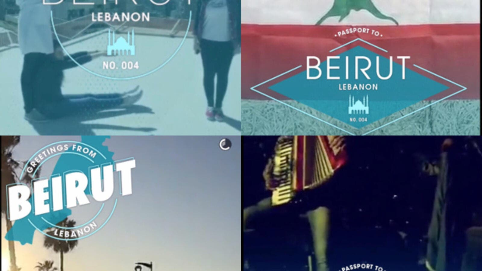 Yesterday's live snapchat story from Beirut showed a city that was, well, just a little bit obsessed with Lebanon's national anthem, amongst other things.  (File)