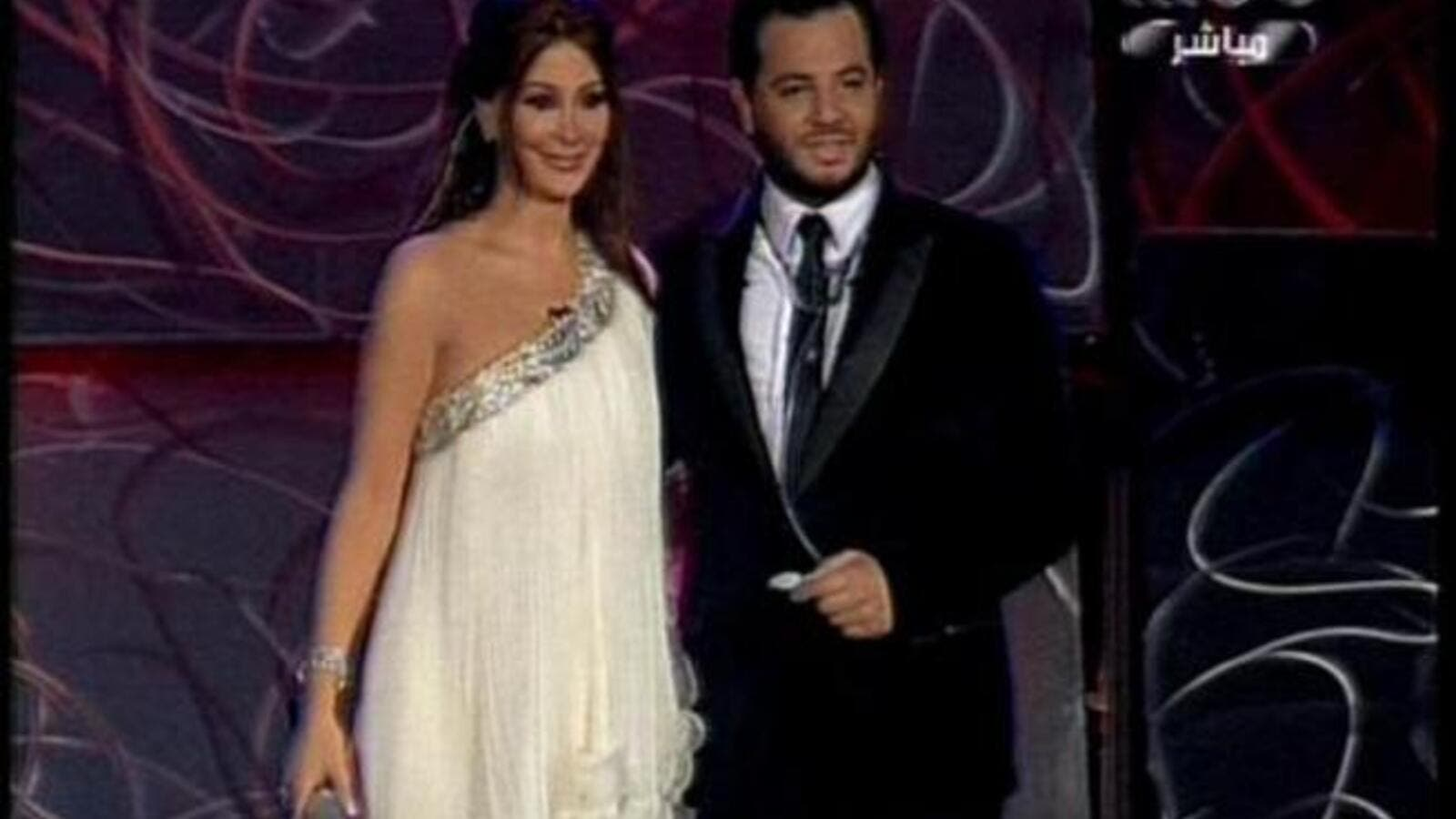 Elissa on the show 'Ibshir' with Nishan