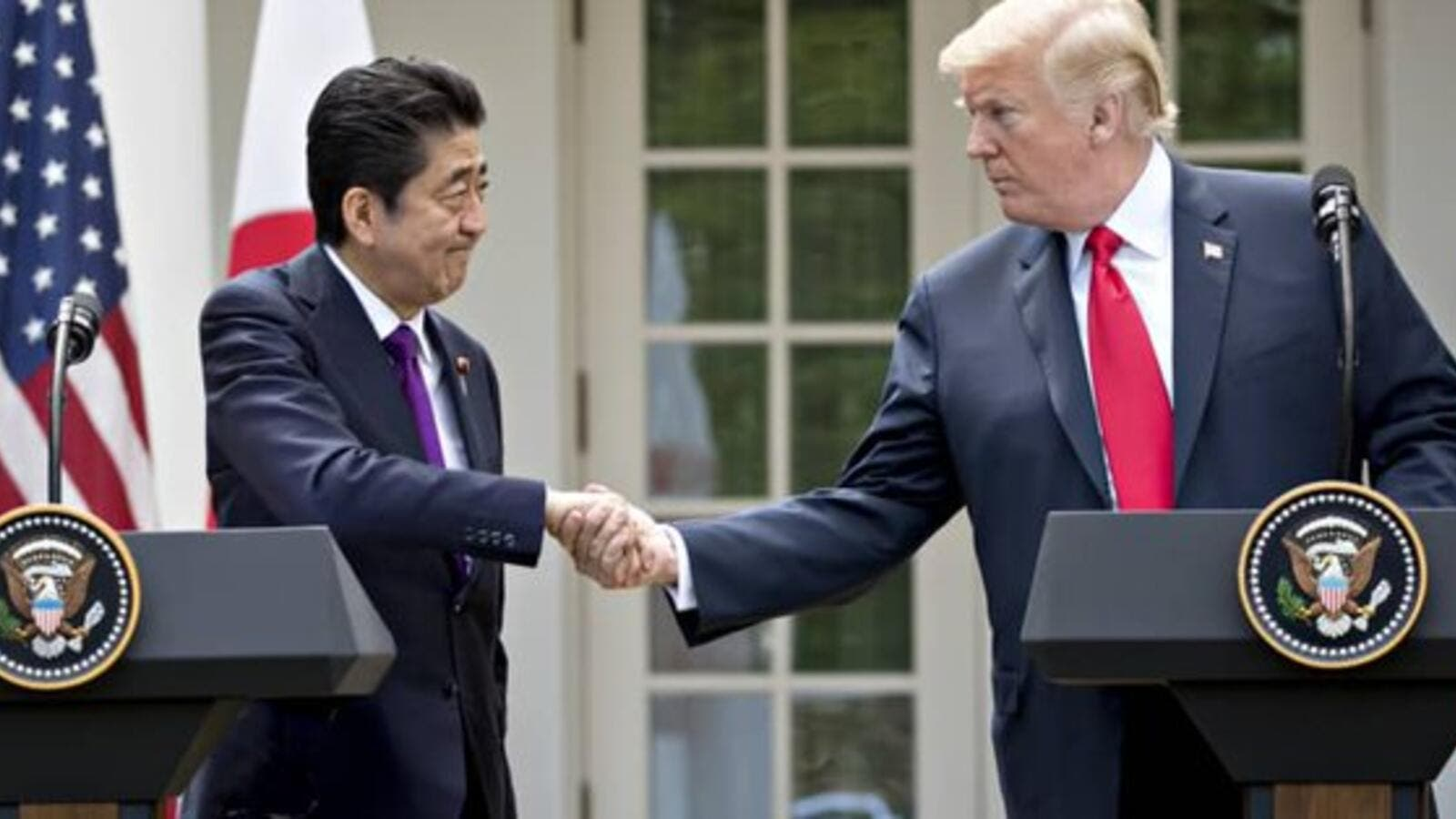 US President Donald Trump says his country is committed to Japan's security and strengthening the key alliance with it (Twitter)
