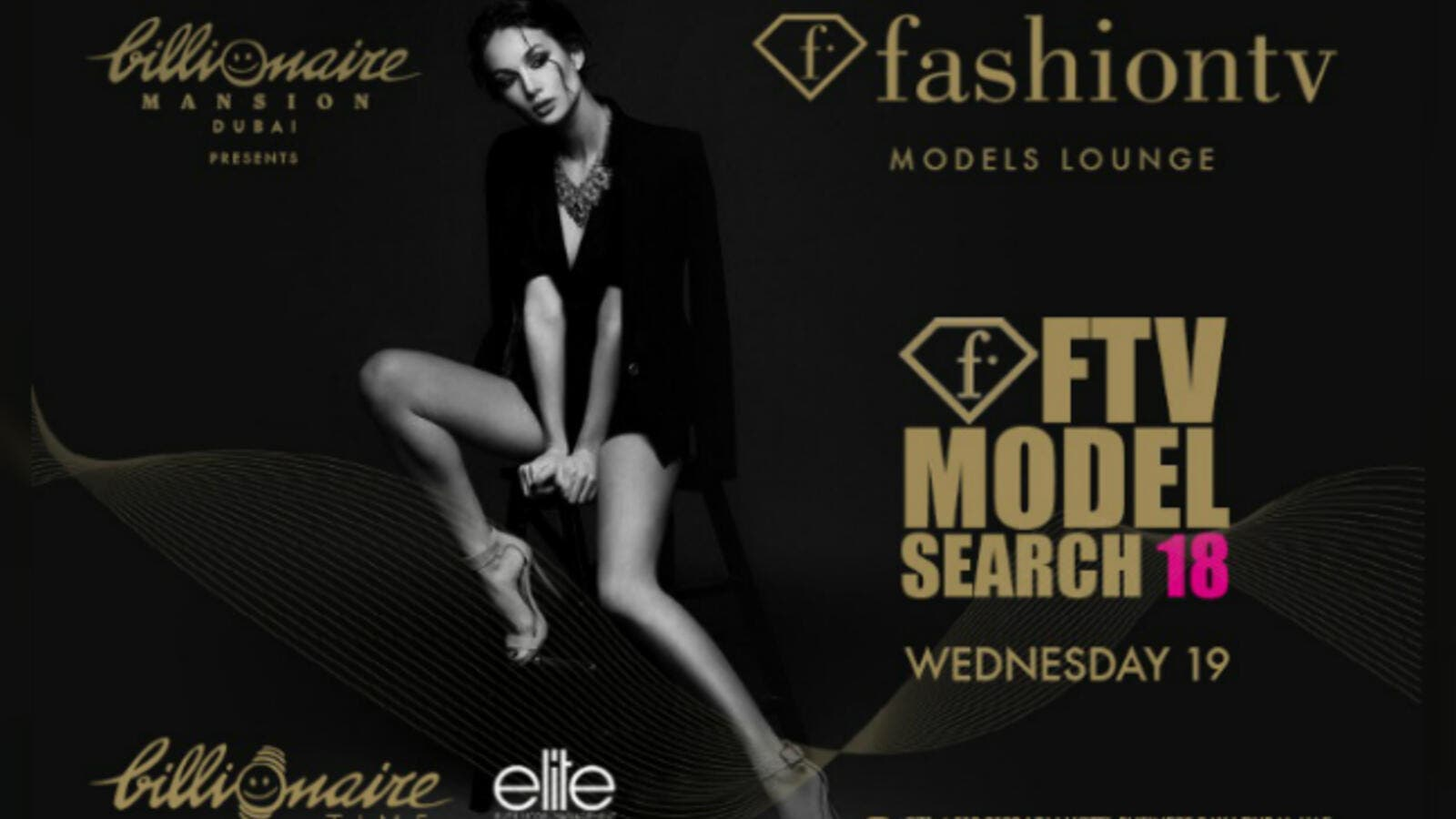 One lucky winner will be crowned as the face of Fashion TV and Billionaire Time watches.