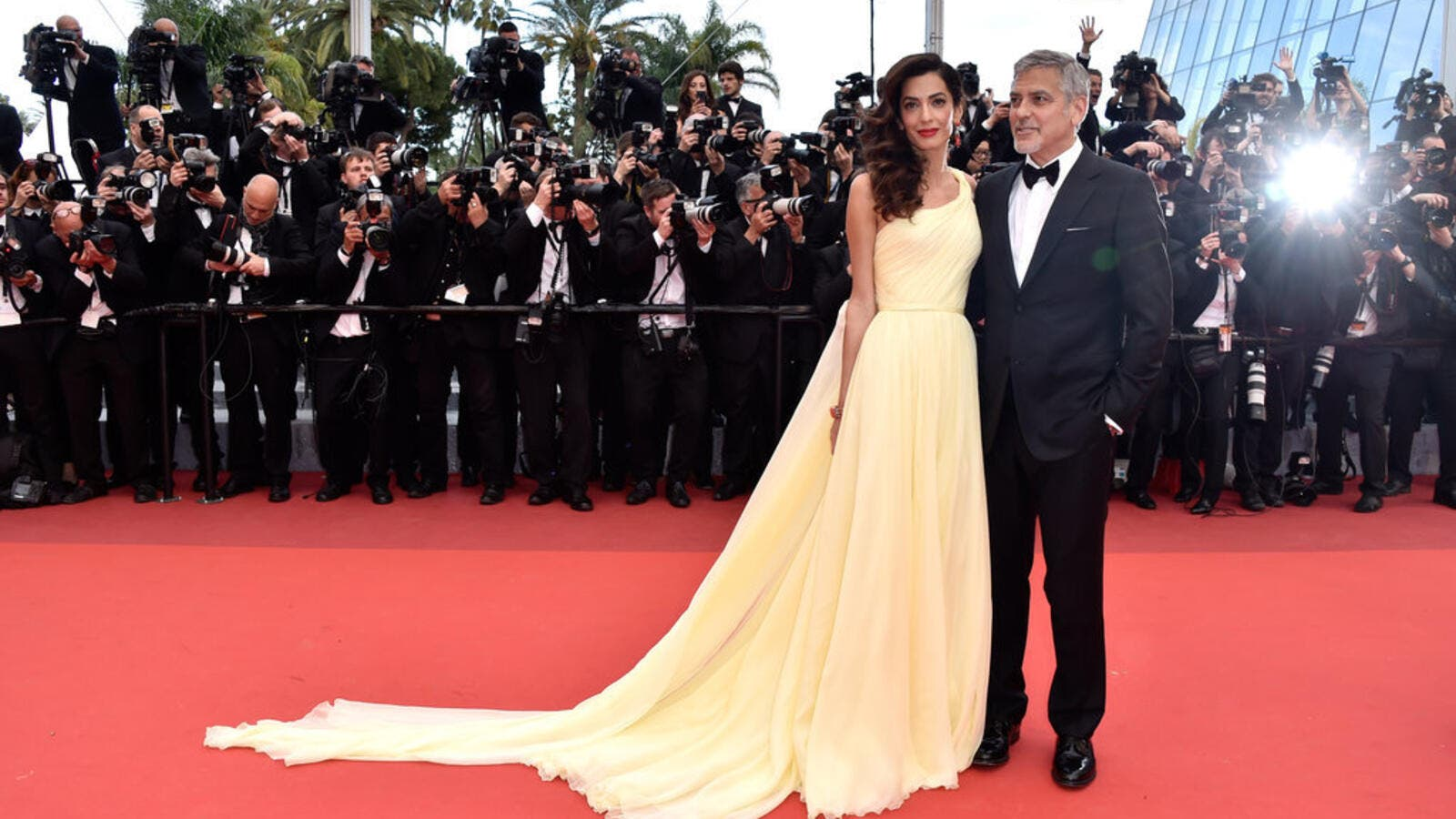 George Clooney's wife made her Cannes debut this week for the release of his movie Money Monster. (Instagram)