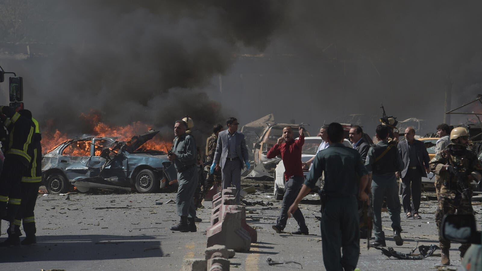Explosion at a hotel in Afghanistan's eastern city of Jalalabad has killed 3 tribal elders (AFP/File Photo)