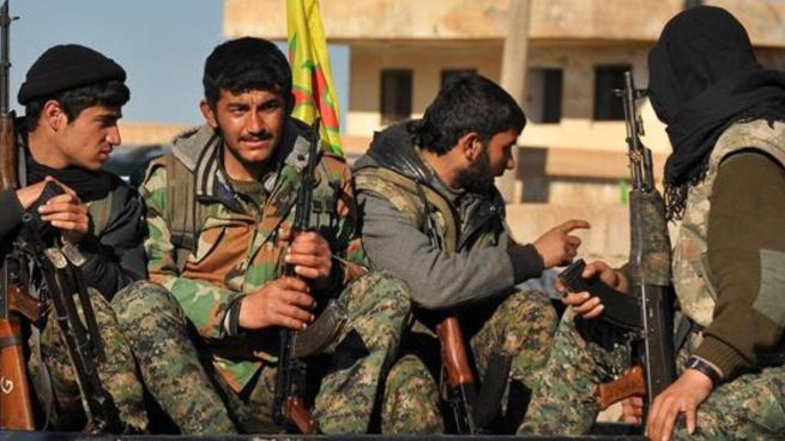Kurdish YPG fighters in Syria. (AFP/File)