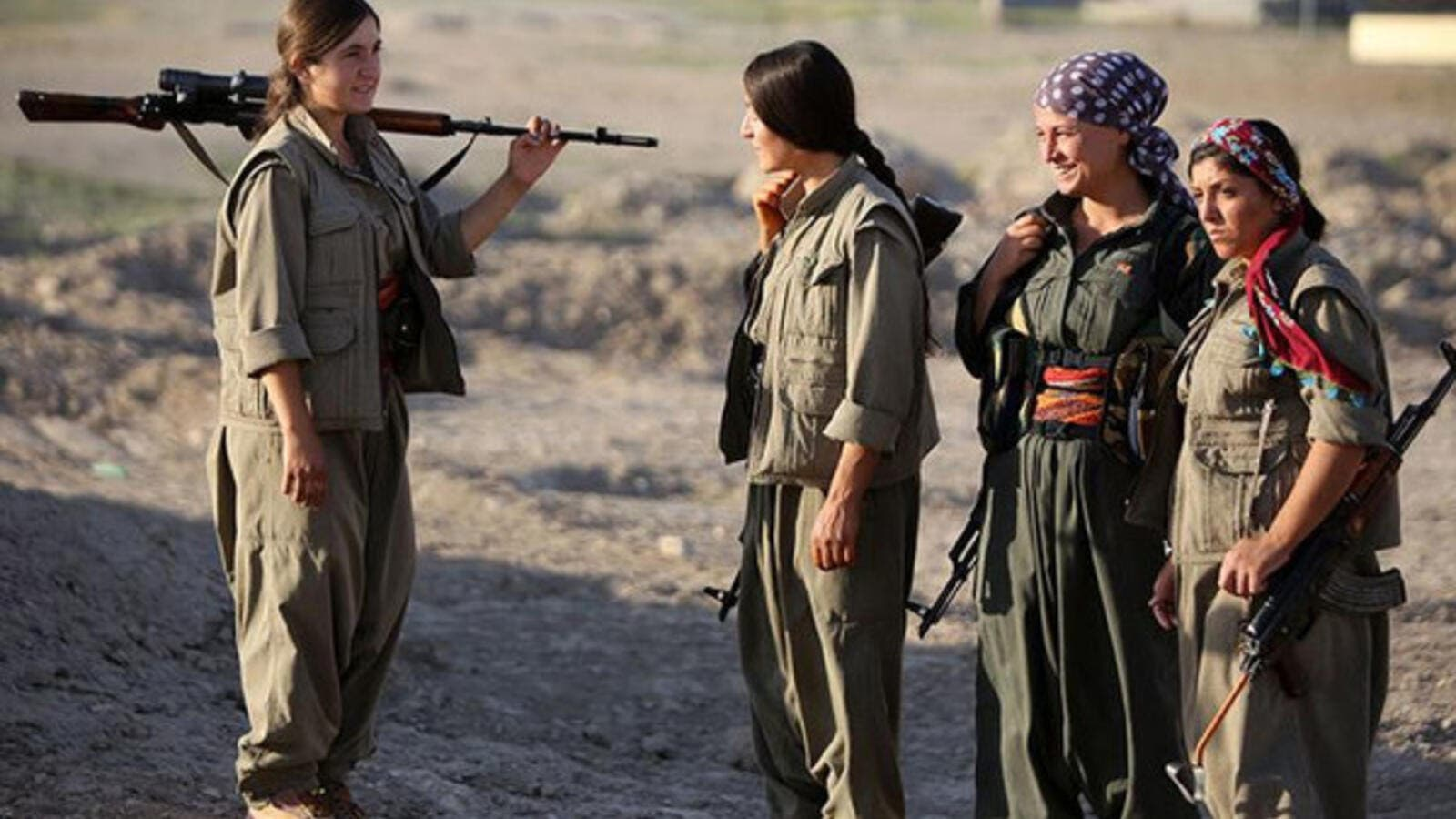 One female soldier claims the Daesh targets women on and off the battle field. (AFP/File)