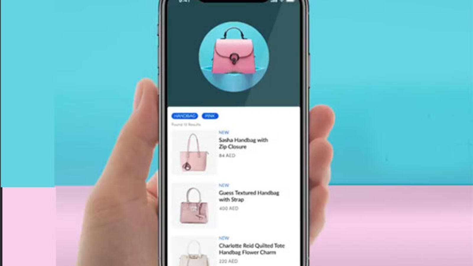 Visual search allows consumers to open any of Landmark's retail brand apps. (TradeArabia)