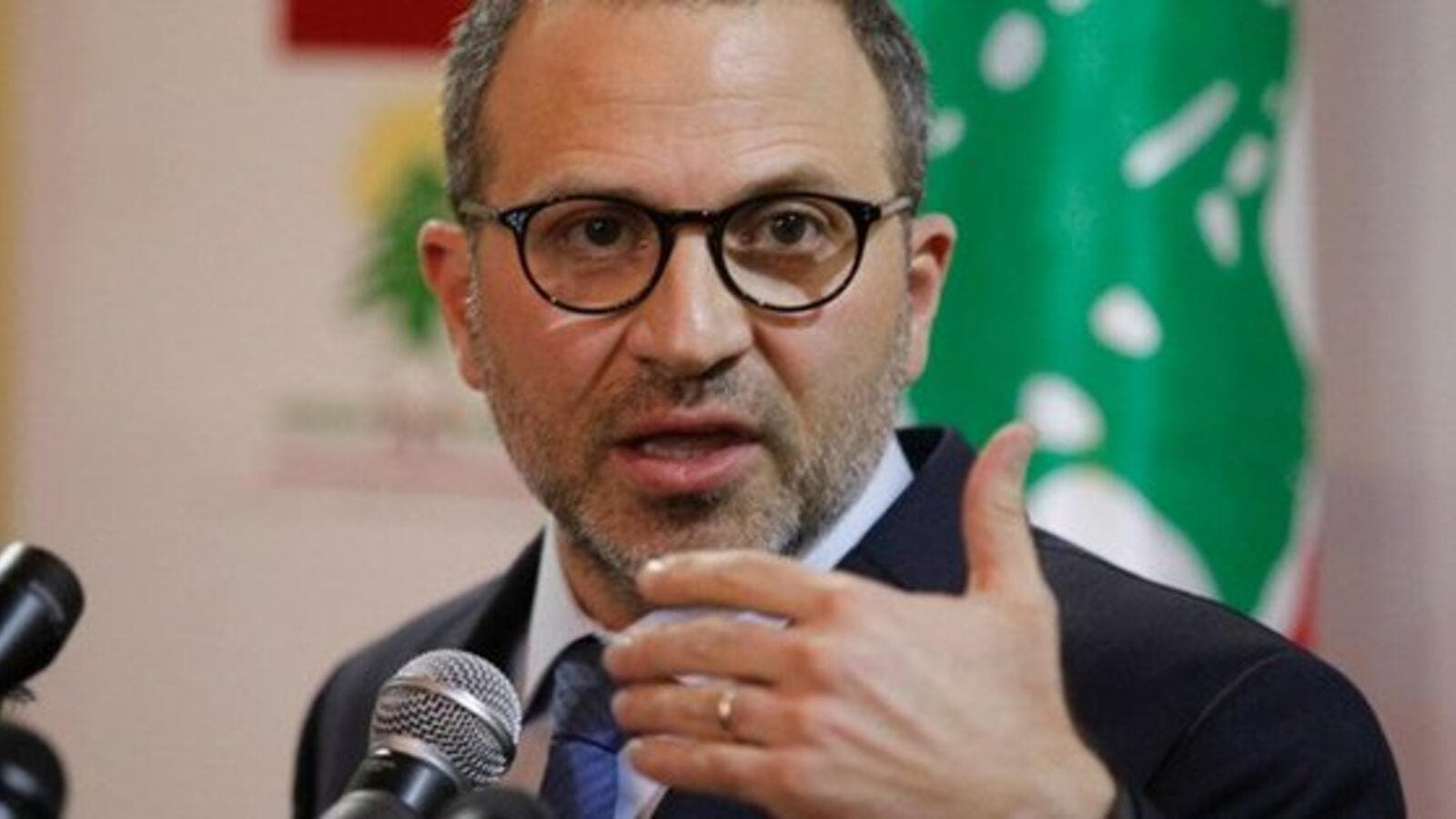 Free Patriotic Movement leader and Foreign Minister Gebran Bassil  (Twitter)