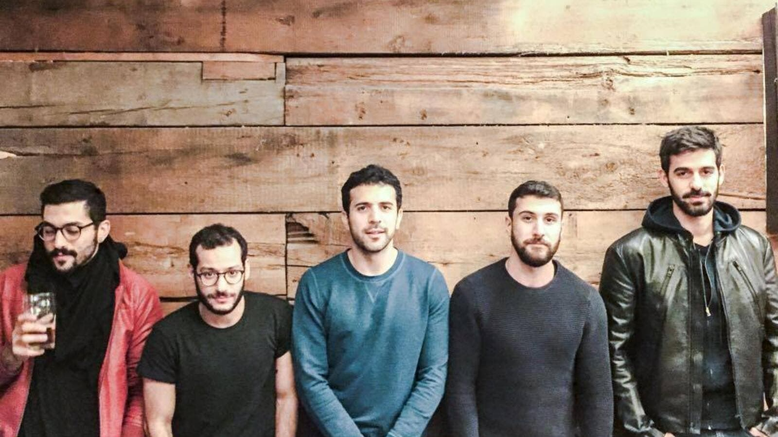 "Lebanese band Mashrou' Leila has been banned from performing in Jordan for ""political reasons."" (Musicmakesyouthink.com)"