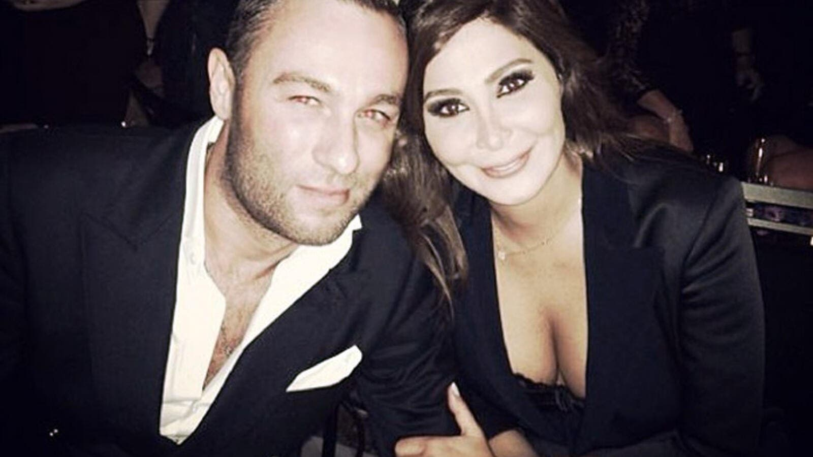 The pic Elissa posted of her and Alex Faur Znakeit on Instagram. (Image: Instagram)