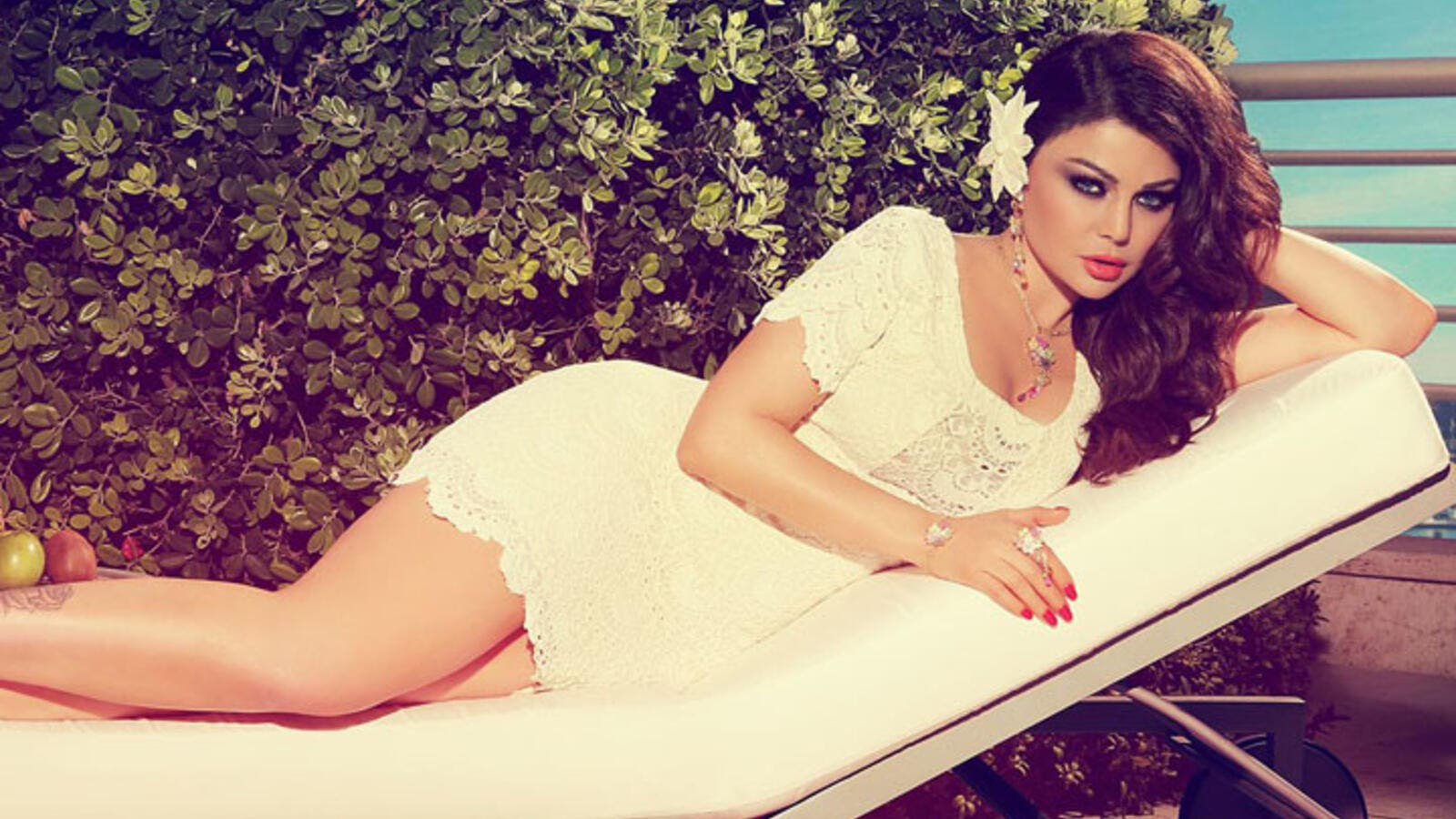 Sex kitten Haifa wants to try to make her rape film scene non-provocative. (Image: Facebook)