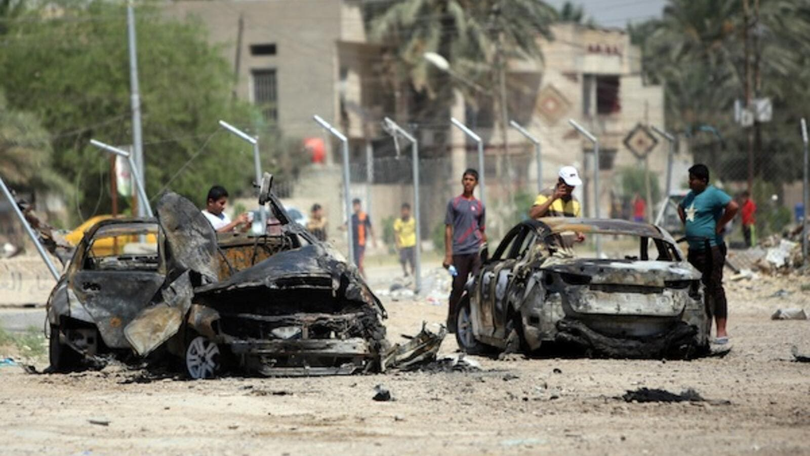 Car bombs in Iraq's capital targeted Sahwa officers, who are considered traitors by Al Qaeda due to their cooperation with the US military (File Archive/AFP)