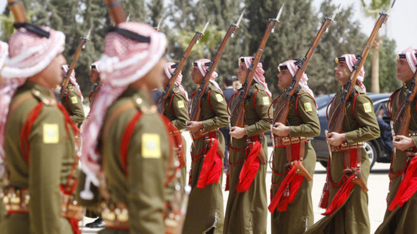 Jordan's armed forces are between 150,000 and 200,000 (File Archive)