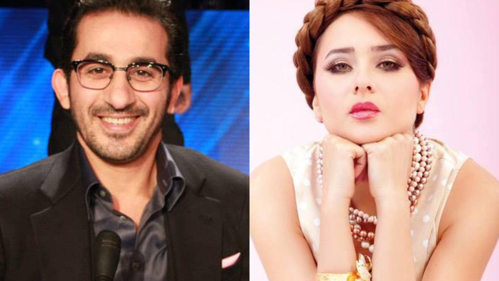 "Two Egyptians, one production: Ahmed Helmy and Nelly Karim will star in ""Made in china"" next year. (Image: AlBawaba edit)"