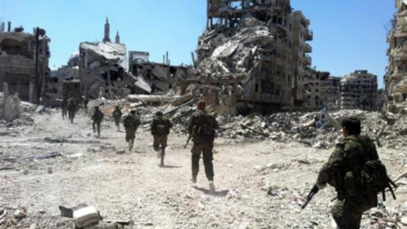 The Syrian army on Tuesday entered rebel-held neighborhoods in Homs. (AFP/File)